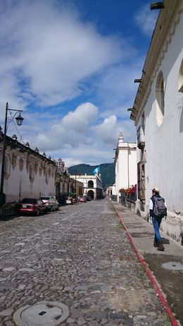 Walking tour in Antigua - October 2015
