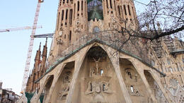 At La Sagrada Familia! - March 2012