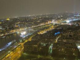 View of nighttime Paris - June 2013