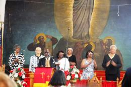 Chorale gospel , Nathalie C - July 2014