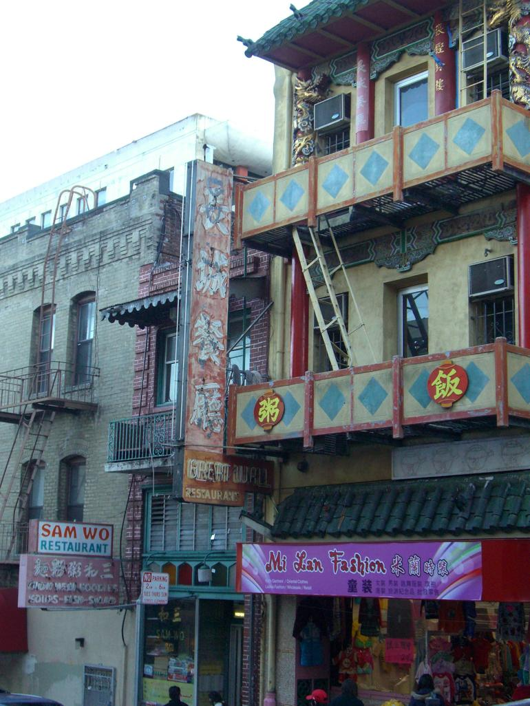 Famous Sam Wo Restaurant in San Francisco's Chinatown - San Francisco