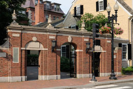 Harvard University Gate (1857), Cambridge MA - December 2011