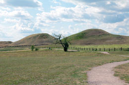 Viking Royal Burial Mounds , Patricia W - October 2011