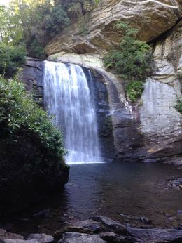 Looking Glass Falls in Pisgah National Forest - a must see. , Susan H - September 2015