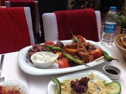 Food served during lunch , Ranjit B - May 2015