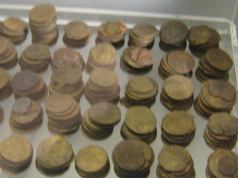 old coins in Bath - London