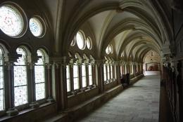Taken in natural light, these halls have seen thousands of monks in the centuries of service here., Alan B - August 2010