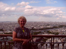 Second floor of Eiffel Tower , June W - June 2011