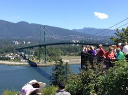 View of Lions Gate Bridge at Peak Point...stunning! , David Z - July 2016