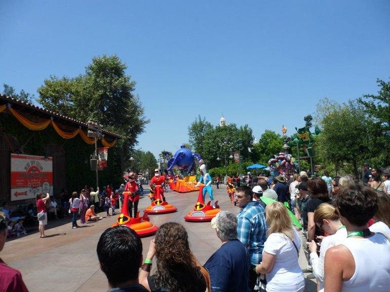 Pixar Parade - Anaheim & Buena Park