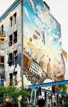 Berlin streetart , C S - May 2015