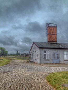 One of the original barracks standing. , Adrian M - July 2014