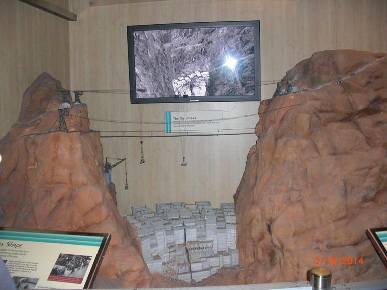 The Dam Rises exhibit - Las Vegas