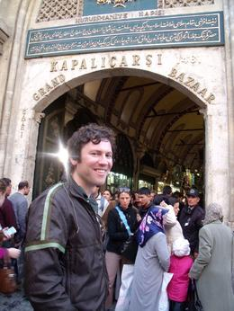 About to run the gauntlet that is the Grand Bazaar! - September 2009