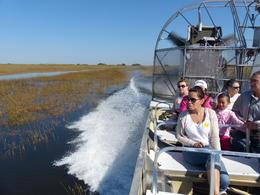 Unsere Fahrt durch die Everglades , Bodo R - April 2013