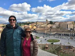 Day Trip, Segovia Aqueduct Nov. 8, 2016 Nelson and Arnie , ROBERT NELSON B - November 2016