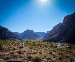 Where we landed in the Grand Canyon. , Samantha H - September 2017