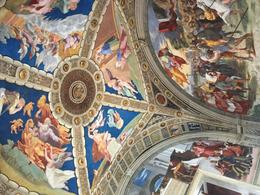 The ceilings inside the Vatican are amazing , cynthia.wilcox.vpm - October 2017