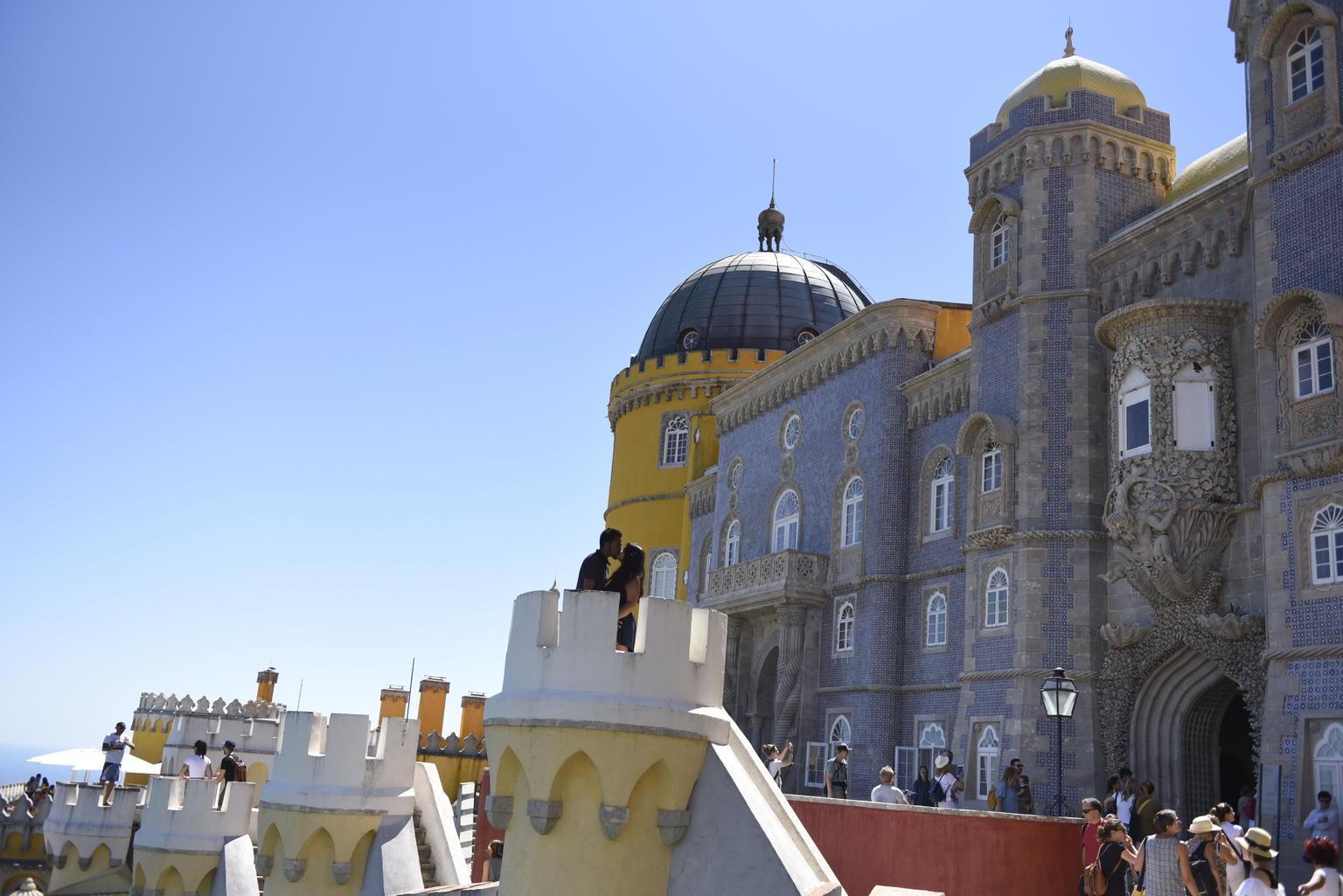 MÁS FOTOS, Recorrido de día completo por Sintra para grupos pequeños: Deje que el cuento de hadas comience