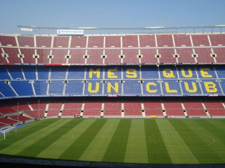 Barcelona soccer stadium - Barcelona