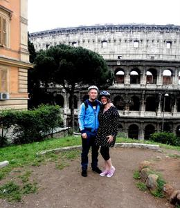 One of the stops on the tour by the colleseum :) , Amy C - May 2012