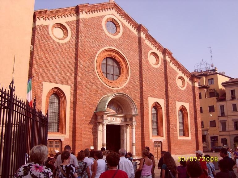 Convent of Santa Maria Della Grazie - Milan