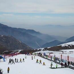 La Parva Ski Resort , vilenachua - August 2014