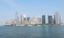 Manhattan vu du bateau , Pierrette T - September 2015