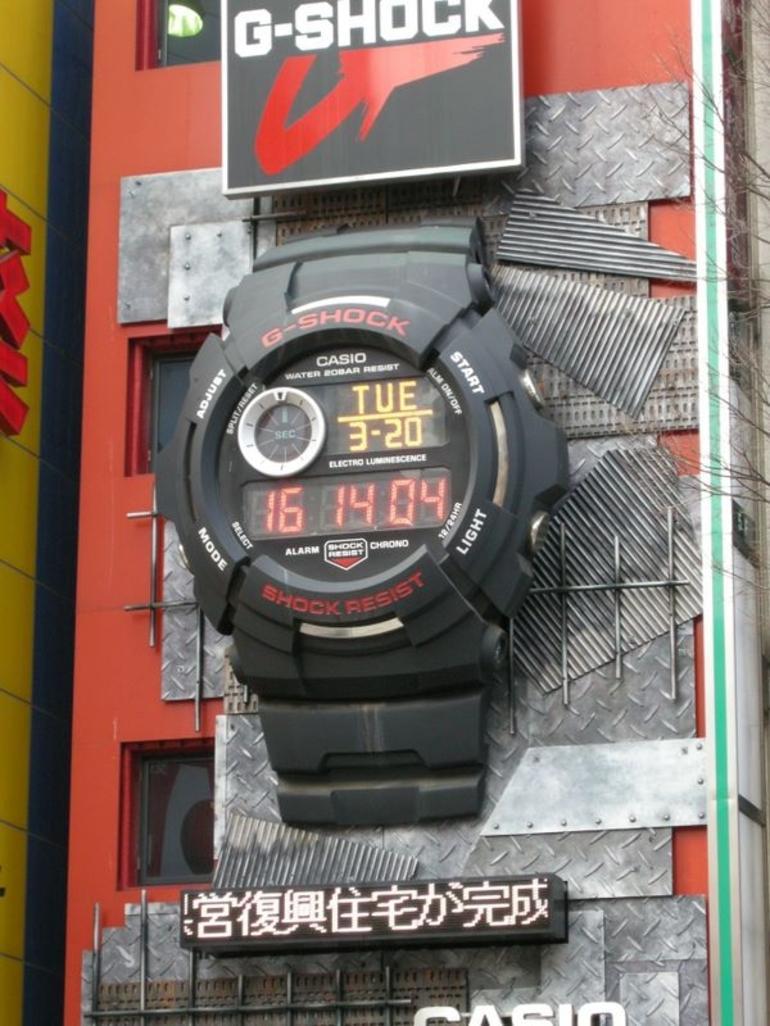 Mega Big G Shock - Tokyo