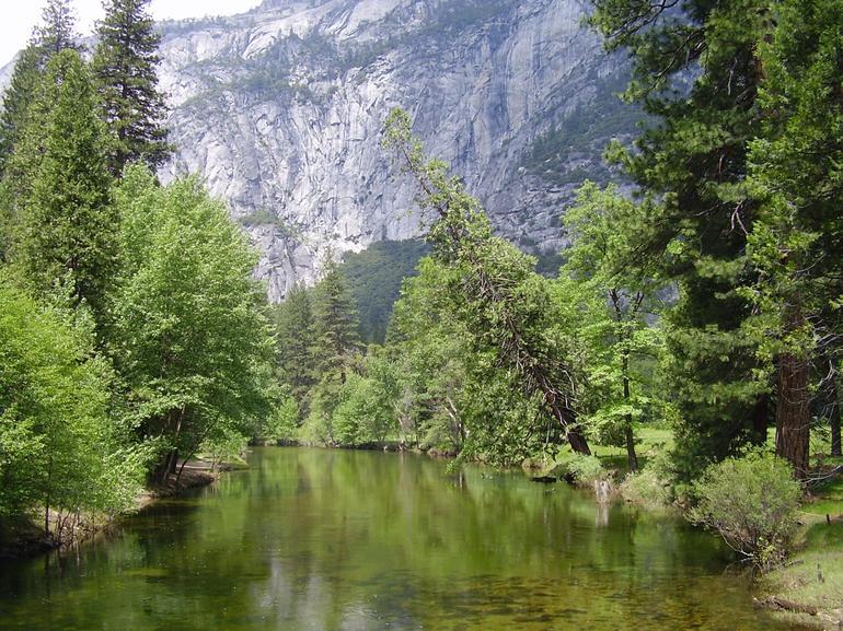 One of the beatiful rivers in Yosemite - San Francisco