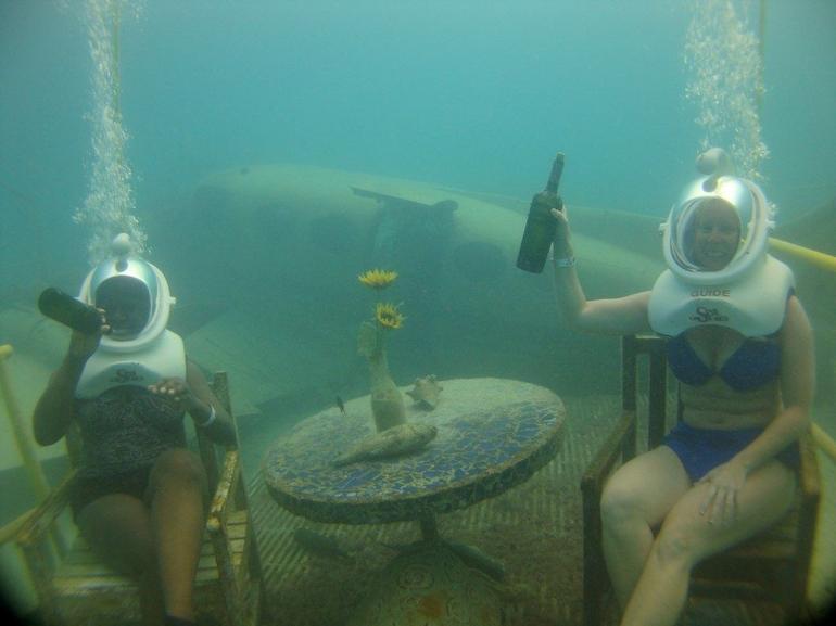 Seatrekking... - Aruba