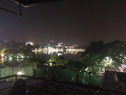 Last stop of the Hanoi foods street walking tour at the roof top bar. , Benjamin C J - April 2015