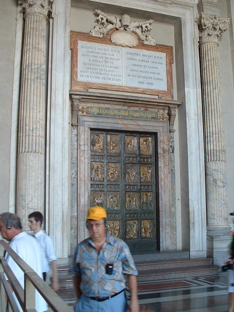 St Peter's Basilica Door - Rome