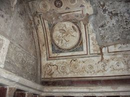 How the volcanic ash actually helped preserve the décor. , STEFANIE S - June 2015