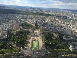 Nice view on Trocadero : , Katka G - May 2016