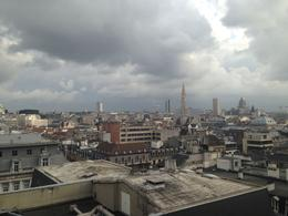 A beautiful view of Brussels from a rooftop. , Anthony F - October 2013