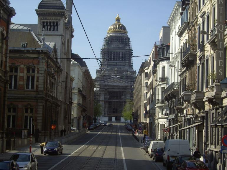 View Towards Law Courts - Brussels