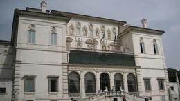 Exterior of Villa Borghese , James Y M - October 2014