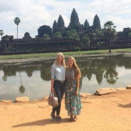 Angkor Wat , Mari S - December 2016