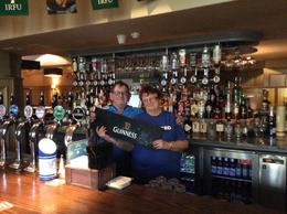 in a pub in bray jill and eddie carey , albert e c - April 2017