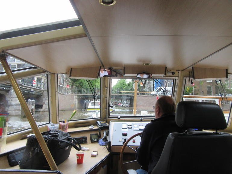 Amsterdam Hop-On Hop-Off Boat 24 or 48 hrs. photo 16