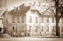 Ingång till området Auschwitz 1 , Pamela A - March 2014