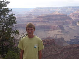 My son somewhere between Mather Point and Bright Angle Lodge. , jwbigcreek - August 2012