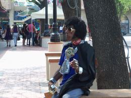 One of the performers in Market Square. This man was dancing as a Latino Elvis figure. Very entertaining and cool. A mini-New Orleans feel to the market itself. A great time! , Jennifer W - April 2011