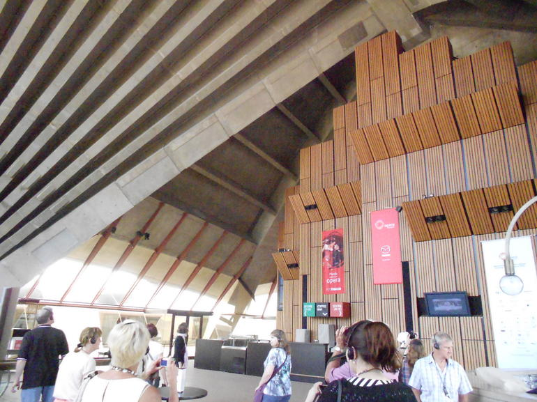 Foyer at the Opera House - Sydney