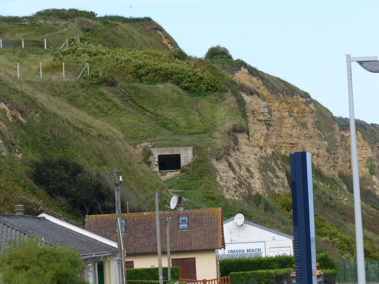German pillbox overlooking Omaha Beach - Paris