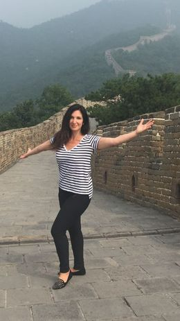 The Great Wall going on for seemingly ever. , Nomi P - July 2016