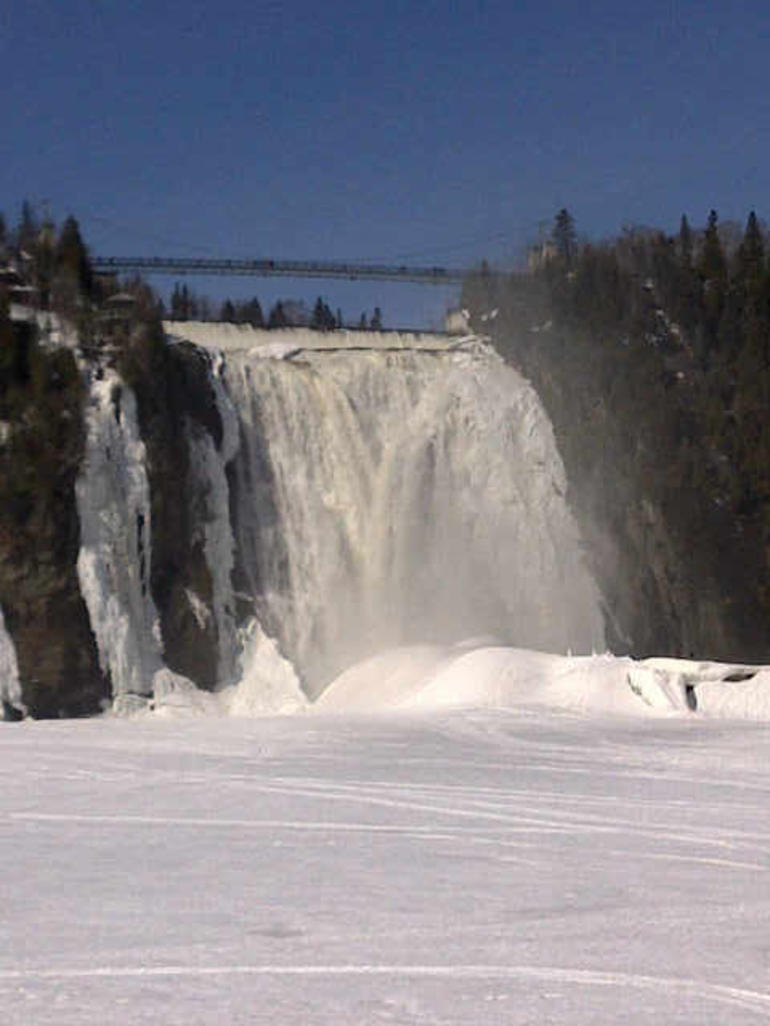 Les chutes Montmorency - Quebec City