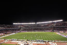 View of the RIver Plate stadium from our seats., Bandit - October 2013