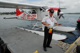 Our trusty seaplane pilot., Jeff - February 2008